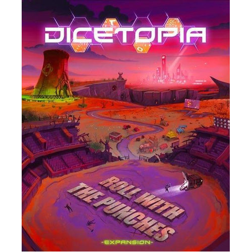 Dicetopia: Roll With The Punches Expansion