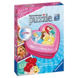 Disney Princess: Heart 3D Puzzle (54 pieces)