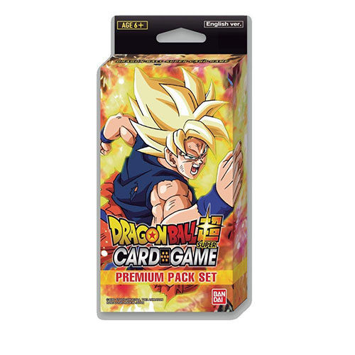 Dragon Ball Super CG Premium Pack Set 01 PP01