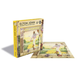Elton John Puzzle: Goodbye Yellow Brick Road