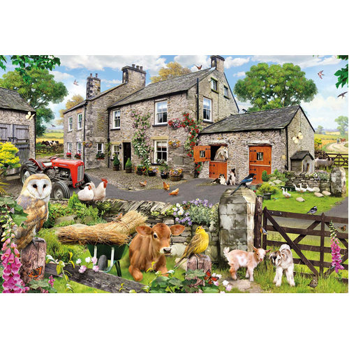 Farmyard Friends Puzzle