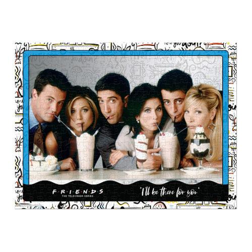Friends Puzzle Milkshake 1000 Pieces