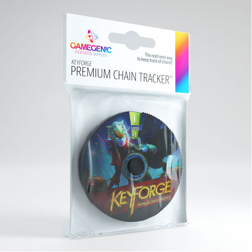 Gamegenic Keyforge Premium Chain Tracker: Shadow