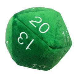 Green Jumbo Plush D20