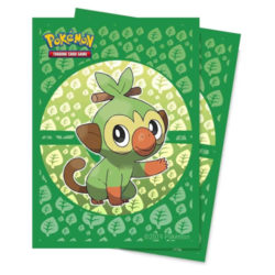 Grookey Deck Protector Sleeves (65ct): Pokemon Sword and Shield Galar Starters
