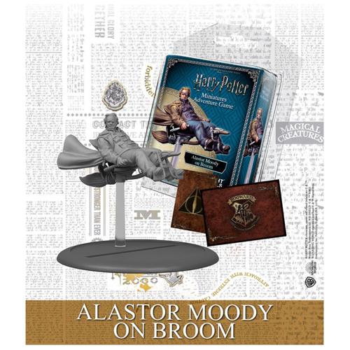 Harry Potter Miniatures Adventure Game: Alastor Moody On Broom Expansion