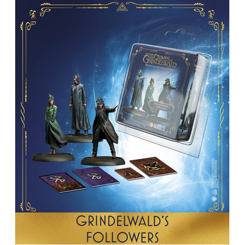 Harry Potter Miniatures Adventure Game (HPM): Grindelwald's Followers II Expansion