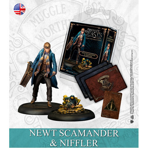 Harry Potter Miniatures Adventure Game (HPM): Newt Scamander and Niffler Expansion