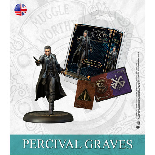 Harry Potter Miniatures Adventure Game (HPM): Percival Graves Expansion