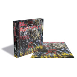Iron Maiden Puzzle: The Number Of The Beast
