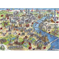 London Landmarks Puzzle (1000+ pieces)