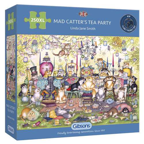 Mad Catter's Tea Party Puzzle