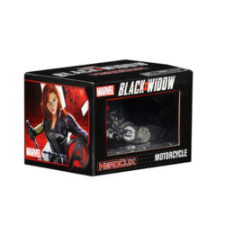 Marvel HeroClix: Black Widow with Motorcycle