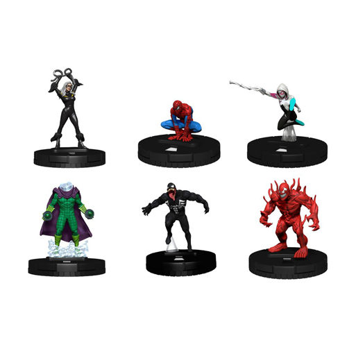 Marvel HeroClix: Spider-Man and Venom Absolute Carnage Fast Forces