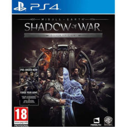 Middle Earth Shadow Of War Silver Edition - PS4