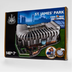 Newcastle United 3D Stadium Puzzle