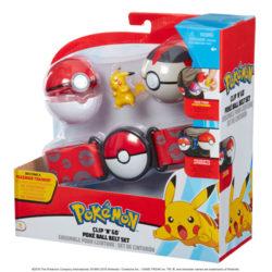 Pokemon Clip N Go Ball Belt Set