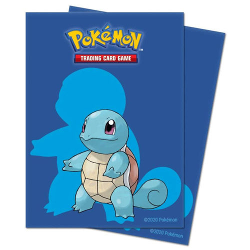 Pokemon Squirtle Deck Protector Sleeves (65ct)