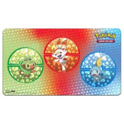 Pokemon Sword and Shield Galar Starters: Playmat