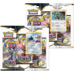 Pokemon TCG: Sword & Shield Rebel Clash 3-Pack Blister - 2 Set