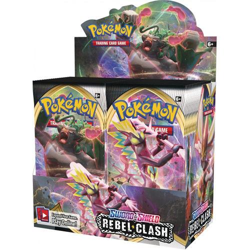 Pokemon TCG: Sword & Shield 2 Rebel Clash Booster Box