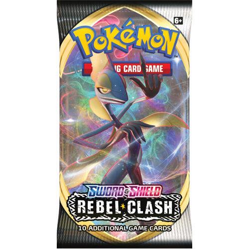 Pokemon TCG: Sword & Shield 2 Rebel Clash Booster Pack