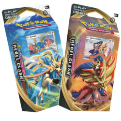 Pokemon TCG: Sword & Shield Rebel Clash Theme Deck - 2 Set
