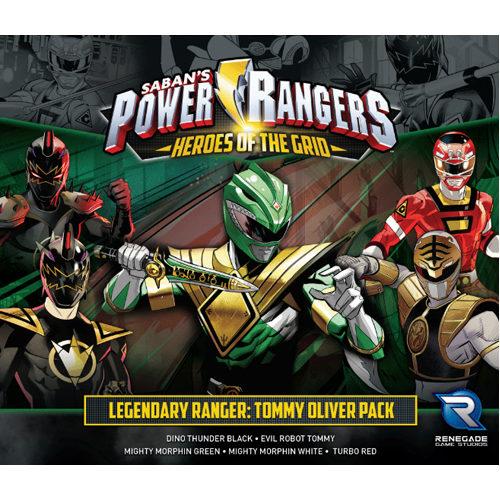 Power Rangers: Heroes of the Grid Legendary Ranger: Tommy Oliver Pack