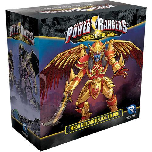 Power Rangers: Heroes of the Grid: Mega Goldar Deluxe Figure