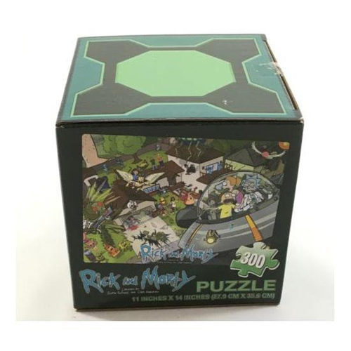 Rick And Morty Puzzle: LC Exclusive