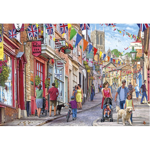 Steep Hill Puzzle