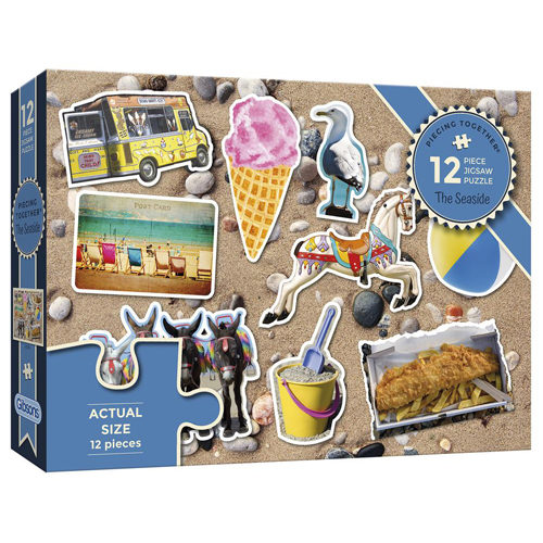 The Seaside Puzzle (12 pieces)