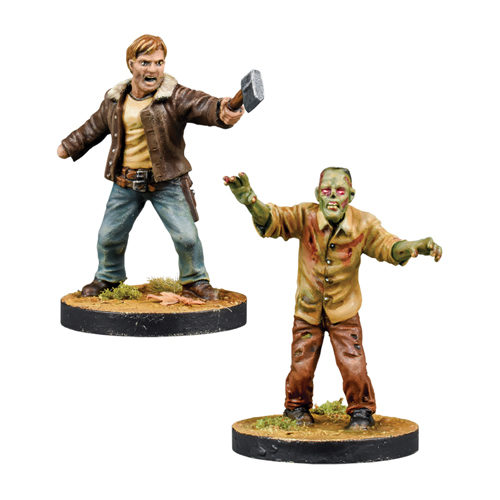 The Walking Dead: All Out War - Rick, Alexandria Leader Booster