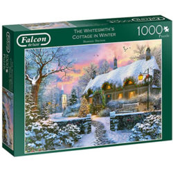 The Whitesmiths Cottage In Winter Puzzle