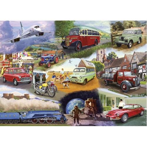 Transport Puzzle (24 pieces)