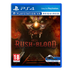 Until Dawn Rush Of Blood VR - PS4