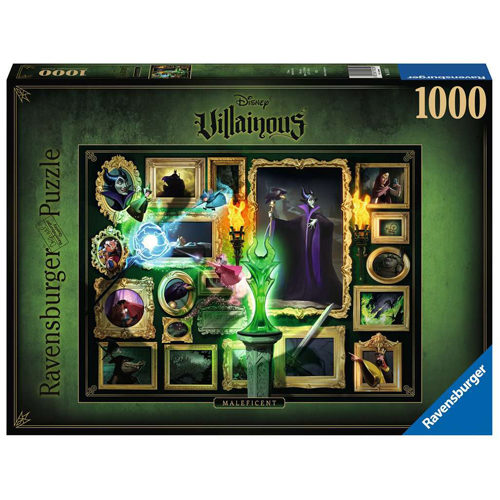Villainous: Malificent Puzzle (1000 pieces)