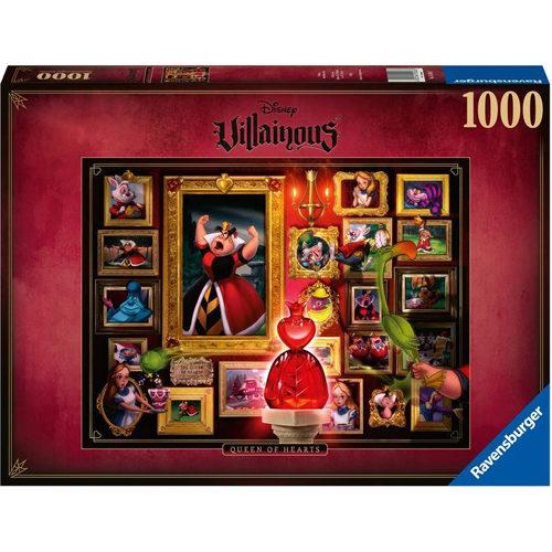 Villainous: Queen Of Hearts Puzzle (1000 pieces)
