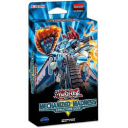 Yugioh TCG Structure Deck: Mechanized Madness
