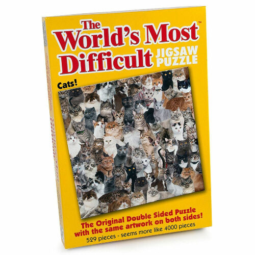 the worlds most difficult jigsaw puzzle cats