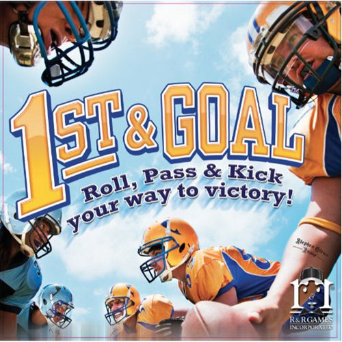 1st and Goal Board Game (Reprint)