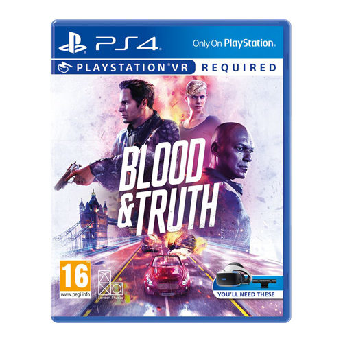 Blood And Truth - PS4