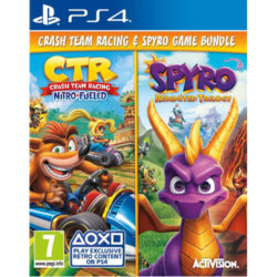 Crash Team Racing & Spyro Reignited Trilogy Double Pack - PS4