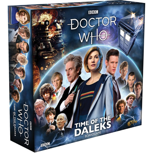 Doctor Who Time Of The Daleks Boardgame: 13th Doctor Core Set