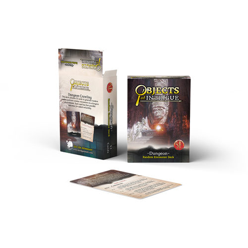 Dungeons And Dragons RPG: Objects Of Intrigue: Dungeon Deck