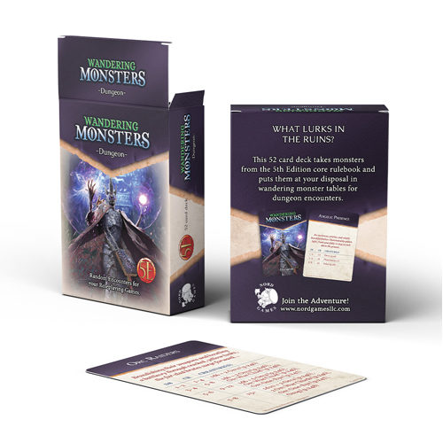 Dungeons And Dragons RPG: Wandering Monster: Dungeon Deck
