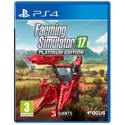 Farming Simulator 17 Platinum - PS4