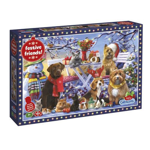Festive Friends Puzzle (150 pieces)
