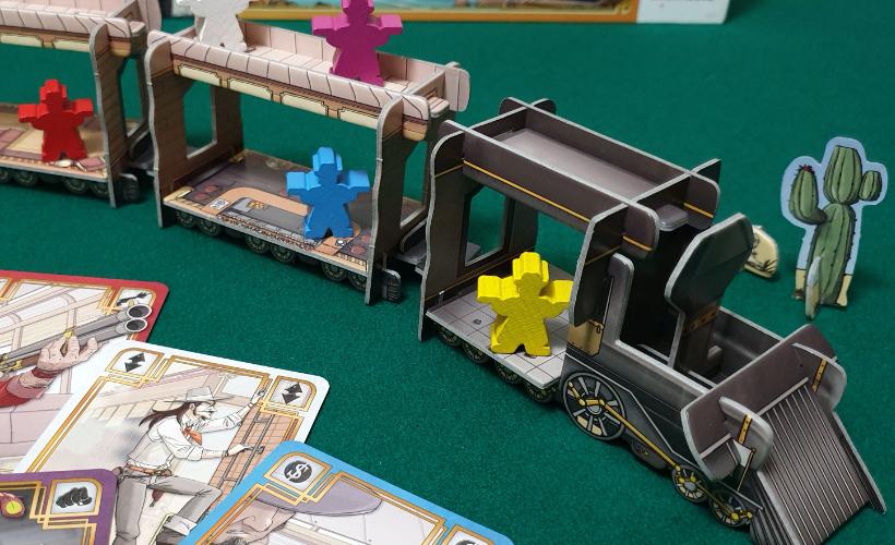 Games for Scoundrels Colt Express