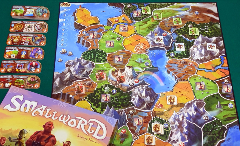 Games for Scoundrels Small world